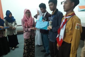 Wahyu Juara Mathematics Olympiad of Unipdu